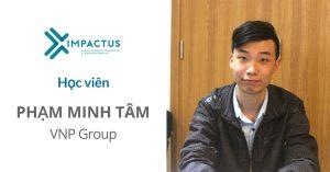 học viên Phạm Minh Tâm Impactus