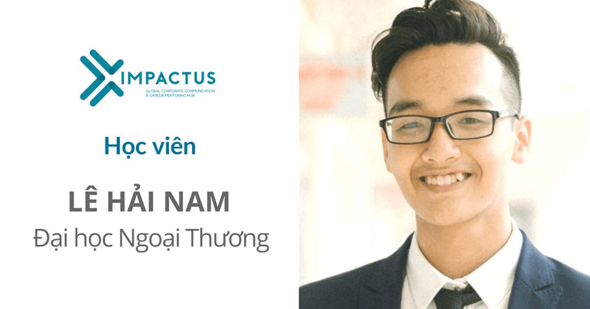 chia sẻ của học viên Lê Hải Nam - Impactus