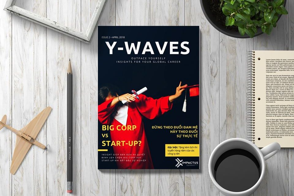 [FreeDownload] Y-WAVES 02, TẠP CHÍ CAREER GUIDE CHO GIỚI TRẺ SỐ 2!
