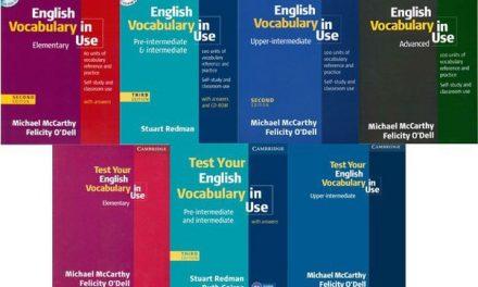 [FreeDownload] ENGLISH VOCABULARY IN USE – BỘ 4 TÀI LIỆU HỌC TIẾNG ANH GIAO TIẾP AI CŨNG CẦN CÓ