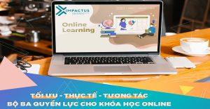 Phương pháp học 3T - Hiệu quả cho 1 khóa học trực tuyến