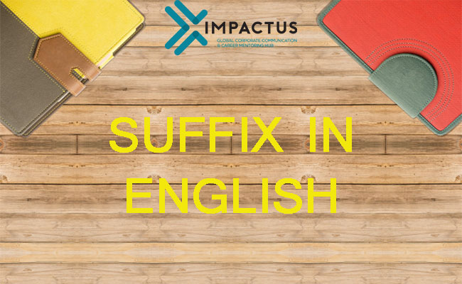 suffix in english