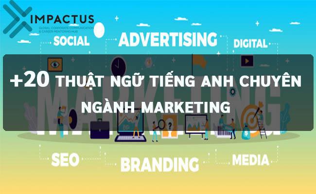 Thuật ngữ tiếng anh chuyên ngành marketing